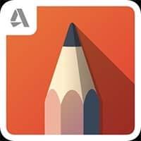 La app cuenta con varios pinceles y capas de trabajo