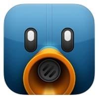 Aplicación para Twitter de iPad