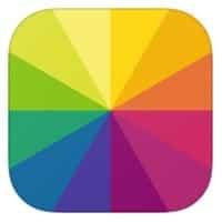 Aplicación fotográfica de iPhone