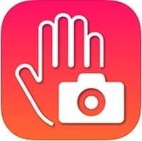 Aplicación de móvil para tomar fotos con gestos